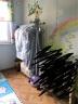 青葦 立體衣服收納防塵罩 透明 加寬加長 2件套 實拍圖