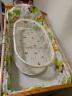 象寶寶(elepbaby)全棉嬰兒床圍三件套可拆洗床靠床圍嬰兒床品套件120*70cm(動物王國) 實拍圖