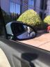 KOOLIFE 汽車后視鏡小圓鏡倒車鏡小圓鏡360度高清可調節廣角鏡反光鏡無邊框圓形5.1cm去盲點盲區輔助鏡 銀白 實拍圖