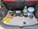 沿途 車載充氣泵 汽車打氣泵  金屬雙30缸 預設胎壓數顯 含工具箱 汽車輪胎用 便攜式打氣筒 E21金色 實拍圖