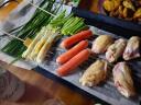 康佳(KONKA)電燒烤爐 電烤盤 家用無煙 不粘電烤爐燒烤架 韓式烤肉鍋烤串機 不粘鐵板燒烤盤燒烤 大號麥飯石烤盤(48x28cm) 實拍圖
