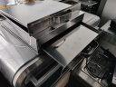 三鼎 家用粉撐廣東腸粉機商用單層雙層蒸腸粉爐早餐拉腸專用設備 單層粉撐(兩抽) 實拍圖