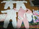 億嬰兒 嬰兒衣服嬰兒禮盒15件套裝新生兒禮盒用品初生寶寶內衣禮包607 粉色加厚款 59/40  66/44 實拍圖