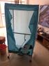 奧克斯(AUX) 干衣機家用烘衣機烘干機雙層1000W 家用15公斤 R8藍【不銹鋼桿】 實拍圖