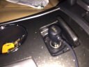 行車記錄儀電源線 連接線GPS導航充電器多功能usb點煙器車充插頭【左右彎頭可選】 mini 右彎頭車充 贈撬棒+布線扣+保險管 實拍圖