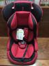 感恩ganen 寶寶汽車兒童安全座椅 旅行者 紅黑色 9個月-12歲 實拍圖