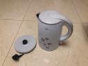美的(Midea)電水壺熱水壺電熱水壺304不銹鋼1.7L容量 雙層防燙全鋼無縫燒水壺WH517E2b 實拍圖