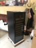 維諾卡夫 (Vinocave) 壓縮機風冷恒溫酒柜 冰吧 85瓶裝 恒溫紅酒柜 CWC-200A 標配滿層架 實拍圖