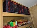 樂扣樂扣(LOCK&LOCK)收納箱鋼架牛津布整理箱玩具衣服儲物箱套裝 藍色小象5件套 實拍圖