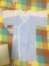 全棉時代 嬰兒衣服連體衣新生兒寶寶衣服秋季2件禮盒裝長款 59/44 藍色+白色 實拍圖