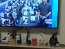 貝漢美(BHM) 創意客廳擺件裝飾品 家居電視柜玄關紅酒柜擺設陶瓷擺件工藝品 結婚禮物 年年有余大號(高25/寬21)cm 實拍圖