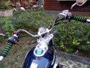 沃達邁 摩托車手把套海綿套防滑把手套 牛角把套 踏板車電動車助力車鬼火剎車把套改裝裝備配件 藍色一套 實拍圖