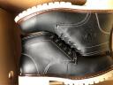 花花公子(PLAYBOY)男靴加絨馬丁靴男士英倫短靴工裝復古中高幫軍靴子男 DA75219 黑色 40 實拍圖