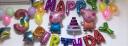 美青(MEIQING)生日裝飾氣球套餐布置兒童卡通主題場景派對趴體裝飾用品宴會酒店背景墻快樂鋁膜氣球 佩奇生日氣球套餐 實拍圖