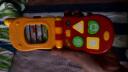澳貝(AUBY)兒童玩具趣味音樂玩具手機 嬰幼兒童音樂電話463413DS男孩女孩玩具 實拍圖