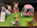 森貝兒家族兒童玩具女孩禮物過家家公主娃娃玩具公仔玩偶貓兔寶寶房間套5166 實拍圖