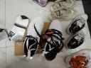 安踏男鞋板鞋2019夏季韓版潮耐磨學生運動鞋男休閑鞋小白鞋跑步鞋 白黑 42 實拍圖