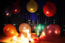 晟旎尚品 氣球 婚慶節日情人節禮物聚會晚會氣球套裝 圓形混裝 100只裝 贈氣筒 實拍圖
