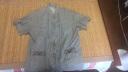 余兆園 唐裝男中老年人棉麻爸爸夏裝套裝爺爺短袖老人衣服亞麻復古短袖 深灰色 44建議175-190斤 實拍圖