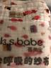 喜親寶 新生兒浴巾多用蓋毯 嬰兒竹纖維泡泡毛巾被云毯澡巾 水洗紗布兒童浴巾包巾105*120cm棕條紋 實拍圖
