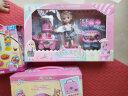 奧智嘉 夢幻依甜芭比娃娃甜品冰淇淋車小屋娃娃套裝大禮盒場景家居套裝 女孩玩具 過家家兒童玩具 公主禮物 實拍圖