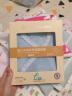 全棉時代 嬰兒連體服新生兒衣服短款禮盒2件裝0-3個月純棉水洗紗布寶寶服 2件/盒 藍色+白色 實拍圖