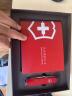 維氏(VICTORINOX)瑞士軍刀 大當家私享禮盒包裝 多功能刀小折疊刀具生日禮物送男生男朋友 紅色1.4713T2 實拍圖