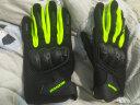 賽羽SCOYCO摩托車手套四季機車賽車防摔透氣騎行騎士裝備男手套MC44 MC58-2 綠色 XL 實拍圖