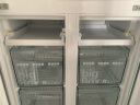 西門子(SIEMENS) 478升 變頻混冷十字對開門多門冰箱 前衛外觀(拉絲銀) BCD-478W(KM47EA16TI) 曬單實拍圖