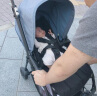 博格步Bugaboo Bee5宝宝推车 双向儿童推车 轻便折叠 遛溜娃神器小孩婴儿推车伞车 黄色蓬 黑车架基础黑套件