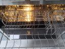 西門子(SIEMENS)100升家用消毒柜碗柜 二星級嵌入式立式消毒柜 O3超感恒封外置導軌 HS363500W 實拍圖