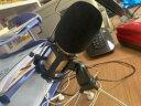 唱吧C1金色爆款麥克風抖音快手手機麥克風話筒電腦蘋果安卓通用美聲錄歌電容麥克風兒童朗誦練歌 實拍圖