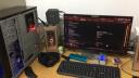 酷冷至尊(CoolerMaster)毀滅者經典U3升級版 中塔電腦主機機箱(支持ATX主板/USB3.0/電源下置/LED風扇) 黑色 實拍圖