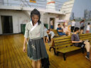 班服漢元素古風上衣新款短裙漢服套裝中國風古裝學生日常改良女裝 如圖一套(上衣+裙子) L 實拍圖