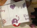 象寶寶(elepbaby)嬰兒毯子 寶寶全棉紗布蓋毯 提花浴巾包被巾毛巾被115X120CM(小馬奇遇) 實拍圖