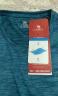 駱駝(CAMEL) 戶外運動T恤 男女透氣吸濕快干圓領短袖休閑T恤 彩藍,男款,J9S284150 L 實拍圖