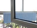 竹之錦 毛巾家紡 竹纖維純色柔軟吸水生態至簡大浴巾 藍色 360g/條 70×140cm 實拍圖