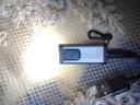ALS便攜充電式迷你小型手電筒創意袖珍旅行戶外LED鑰匙強光燈禮品   GFL061R灰色 實拍圖