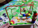 銘塔嬰幼兒童繞珠串珠益智玩具 男女孩寶寶6-12個月木制 啟蒙早教智力0-1-2-3周歲 實拍圖