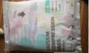 收納博士壓縮袋 真空收納棉被子衣物整理袋 加厚環保材料 簡約白2特大2大4中內含手泵 實拍圖