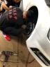 TEI德國進口剎車片剎車盤剎車鋼喉汽車大小四六活塞剎車卡鉗套裝改裝白條6期免息 奧迪a4l/a6l P40S 實拍圖