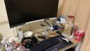 樂歌(Loctek)液晶電腦顯示器支架 桌面底座旋轉升降顯示器支架臂 電腦顯示屏支架 17-35英寸 F8A白 實拍圖