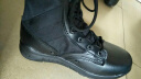 盾郎 超輕作戰靴戶外軍靴男高幫登山靴耐磨戰術鞋黑色休閑特戰防滑作訓靴 黑色 42(260) 實拍圖