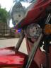 奧能盾 摩托車藍牙音響踏板車鬼火音箱雅馬哈本田五羊鈴木地平線哈雷防盜器 低音炮帶藍牙Y4 透明喇叭帶遙控一套 實拍圖
