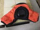 佰卓單反防寒罩適用佳能尼康賓得索尼相機保暖套冬季戶外滑雪鄉攝影保溫 專業攝影保護罩 橙色 加厚版 實拍圖