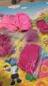 【飛格瑞】彩色冰鞋套 燙鉆花樣冰刀鞋保護套 加厚彈力大 避免花樣滑冰鞋劃傷 玫粉色(鑲鉆) S 實拍圖