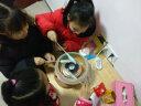 納麗雅 棉花糖機家用兒童迷你棉花糖機器自制棉花糖 茶色 實拍圖