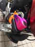 威臣(VEISON)摩托車鎖碟剎鎖車鎖電動車防盜鎖碟鎖小牛車鎖 粉藍和提醒繩(提醒繩顏色隨機發) 實拍圖