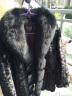 憨厚皇后 秋冬新款狐貍毛領水貂毛皮大衣海寧時尚皮草拼貂裘皮外套女中長款W 全黑色領 3XL 實拍圖