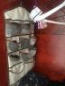 空間匯內衣內褲襪子文胸雙面收納掛袋衣櫥衣柜雜物整理懸掛收納袋 30格內衣掛袋 棉布雙面掛袋 實拍圖